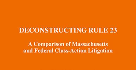 Deconstructing Rule 23